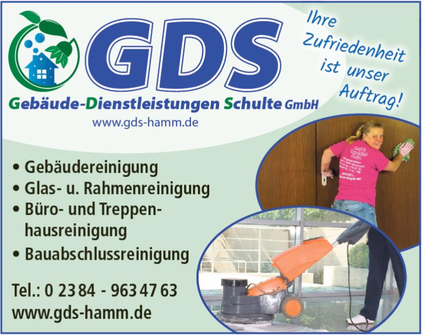 Treppenhausreinigung Soest - GDS Schulte